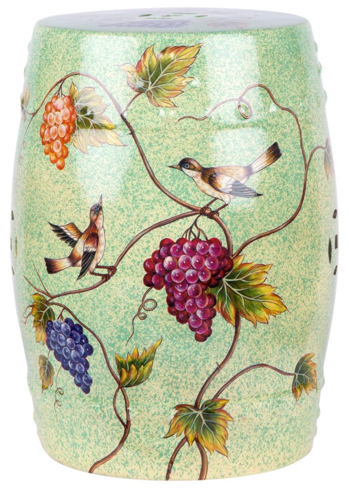 Купить Керамический столик-табурет Garden Stool Сад2 в интернет магазине дизайнерской мебели и аксессуаров для дома и дачи
