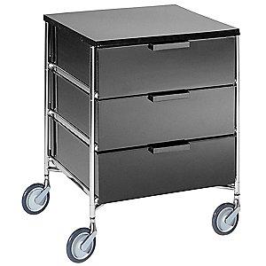 Купить Тумба на колесиках 2010 L5/opaque slate (Mobil) в интернет магазине дизайнерской мебели и аксессуаров для дома и дачи