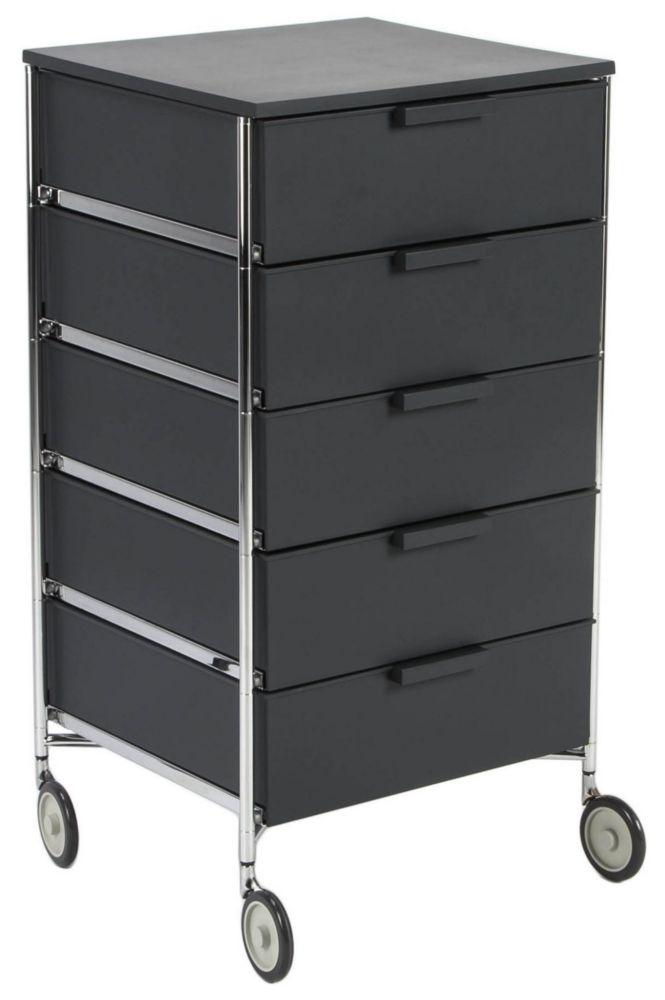 Купить Тумба на колесиках Mobil - Opaque slate / 2034 (Mobil) в интернет магазине дизайнерской мебели и аксессуаров для дома и дачи