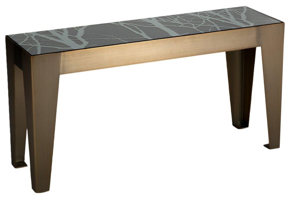 Купить Стол журнальный Hermes grey 100 см в интернет магазине дизайнерской мебели и аксессуаров для дома и дачи