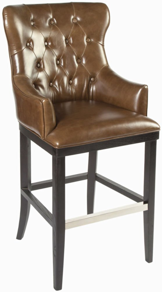 Стул барный Diamond bar chair 767 leather