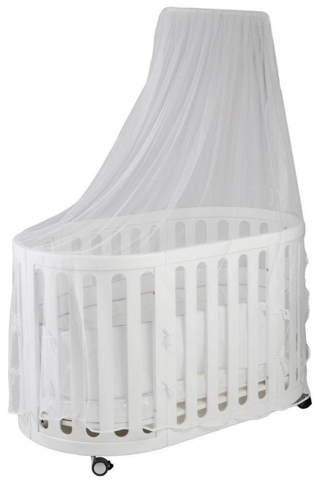 Купить Кровать детская Rail up white в интернет магазине дизайнерской мебели и аксессуаров для дома и дачи