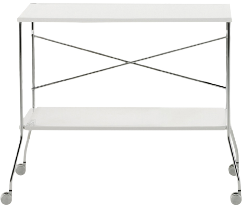 Купить Столик сервировочный Flip - E5/glossy white / 4465 в интернет магазине дизайнерской мебели и аксессуаров для дома и дачи