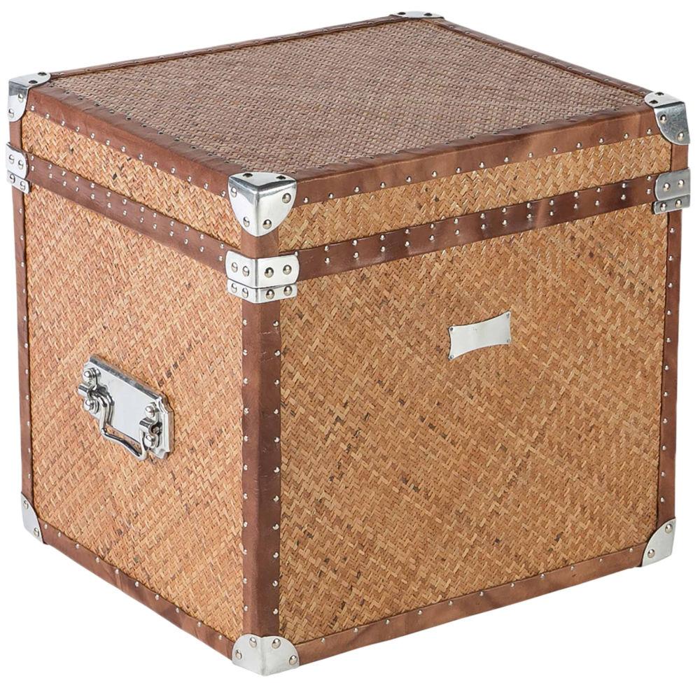 Сундук Cane / SMF05311 (Cane), 04975Коробки и кейсы для хранения<br>Этот плетеный сундук будет прекрасной <br>деталью на веранде загородного дома, а также <br>непременно найдет свое место среди аутентичного <br>декора, привезенного из путешествий, в городской <br>квартире. Натуральный ротанг и кожаные <br>ремни – отданная дизайнерами EICHHOLTZ дань <br>моде на этнику. Качественные эко-материалы <br>создадут близость к природе, которых так <br>не хватает в повседневной суете.<br><br>Цвет: None<br>Материал: None<br>Вес кг: None