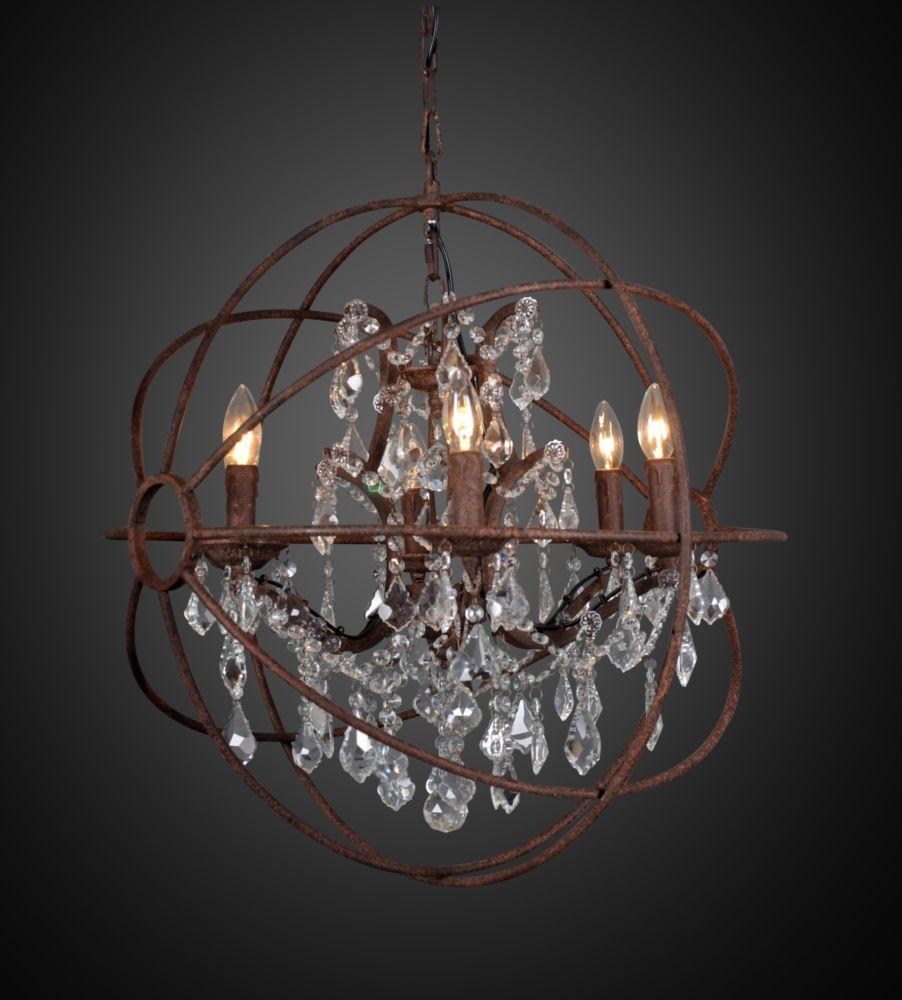 Купить Люстра / GYRO CRYSTAL / OR в интернет магазине дизайнерской мебели и аксессуаров для дома и дачи