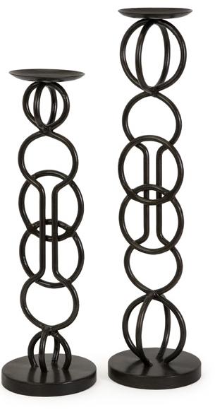 Купить Подсвечник Flint (комплект из 2 шт) в интернет магазине дизайнерской мебели и аксессуаров для дома и дачи