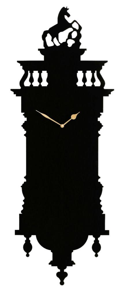 Часы настенные MEMOCLOCK Black, 00339