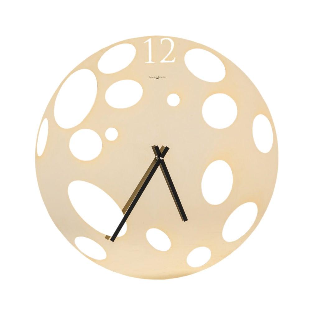 Часы настенные MOON - Gold 383, 00239