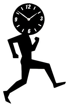 Часы настенные UOMINO Black 1715, 00309