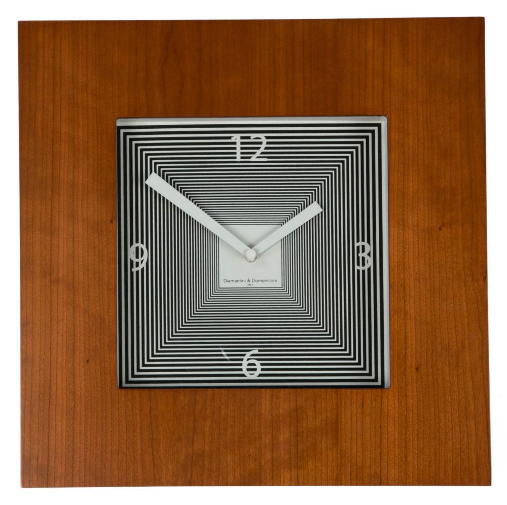 Часы настенные TARGET Square Wooden Frame Cherry, 00223