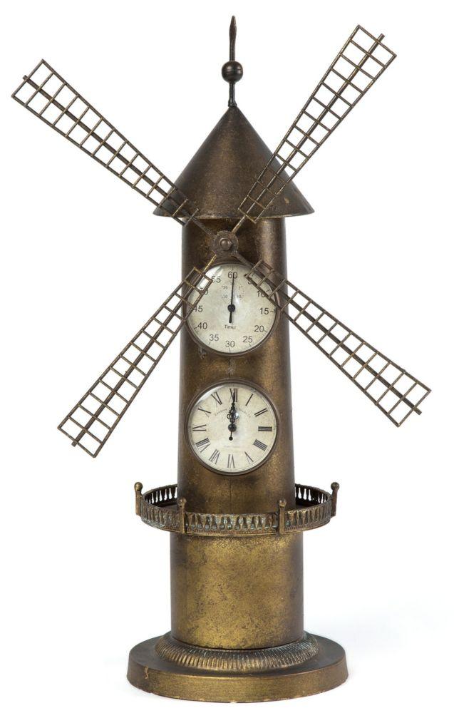 Купить Часы настольные Old Miller Iron DE7584 в интернет магазине дизайнерской мебели и аксессуаров для дома и дачи