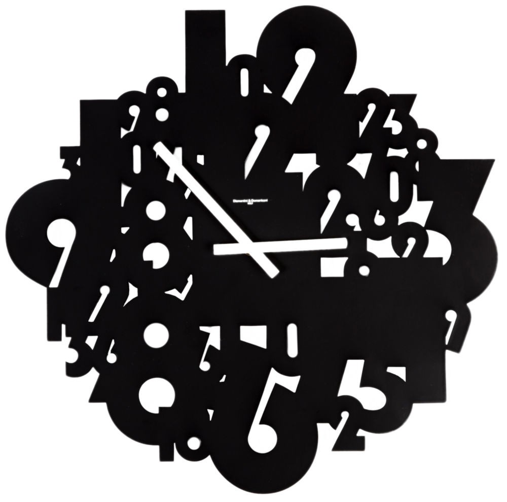 Часы настенные TIMELESS Lacquered Metall Frame/ Black / 385 (TIMELESS), 00324