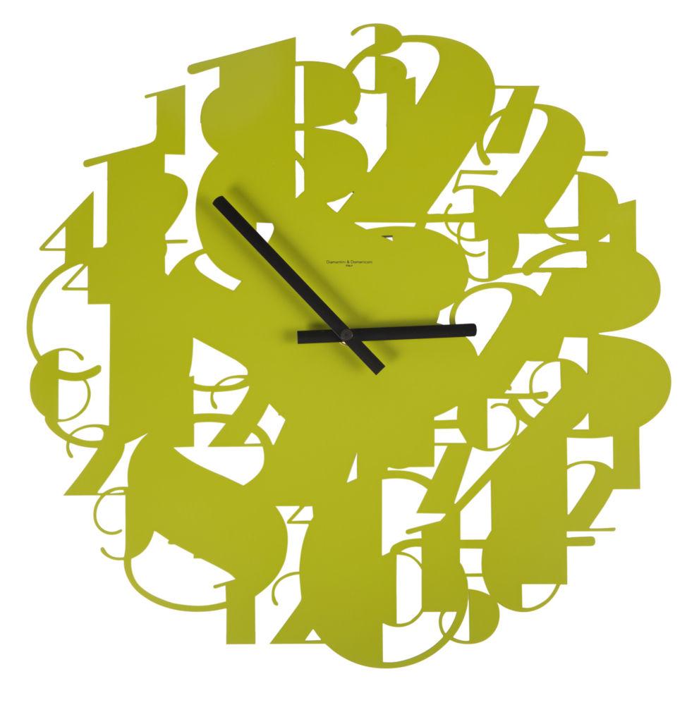 Часы настенные SHOWTIME Lacquered Metall Frame/ Green / 386 (SHOWTIME), 00331