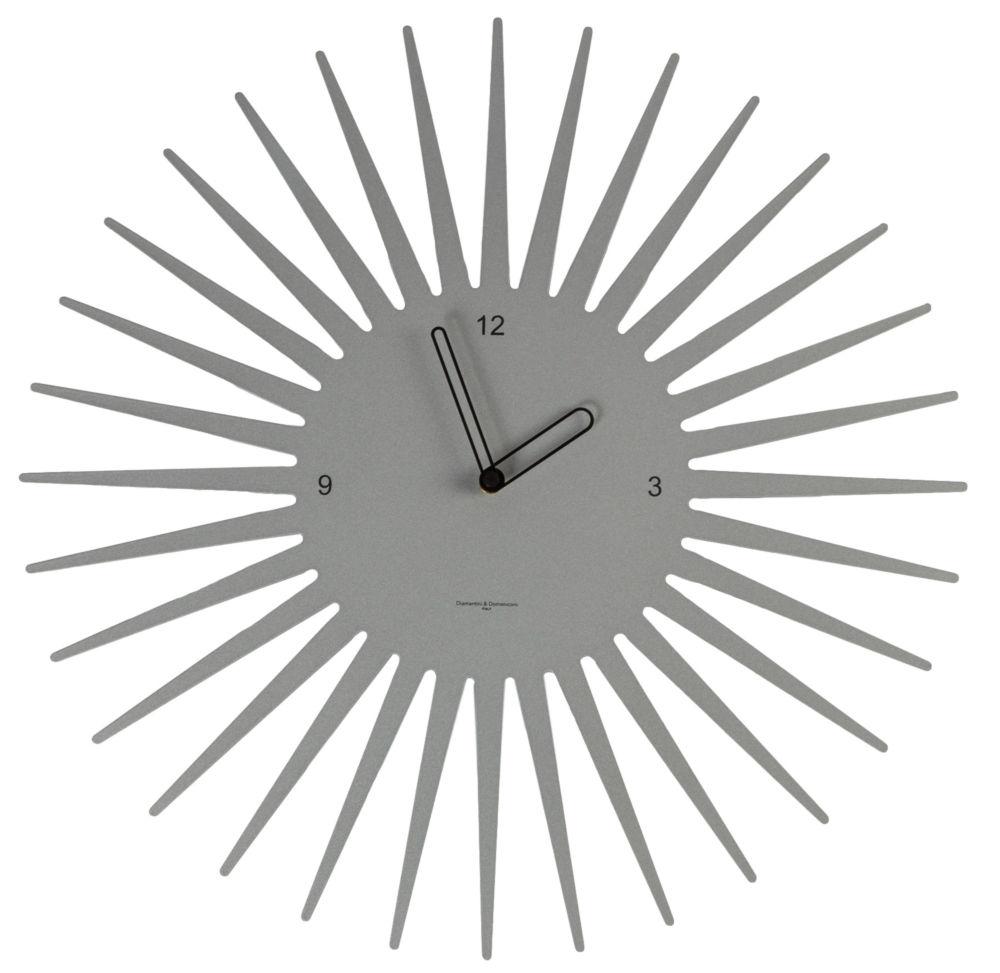 Часы настенные SUN Laquered metal frame/Aluminium / 370 (SUN), 00280