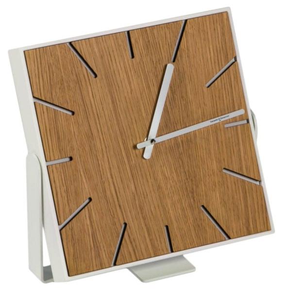 Часы настенные (настольные) SNAP Small Wood Oak • Natural, 00191