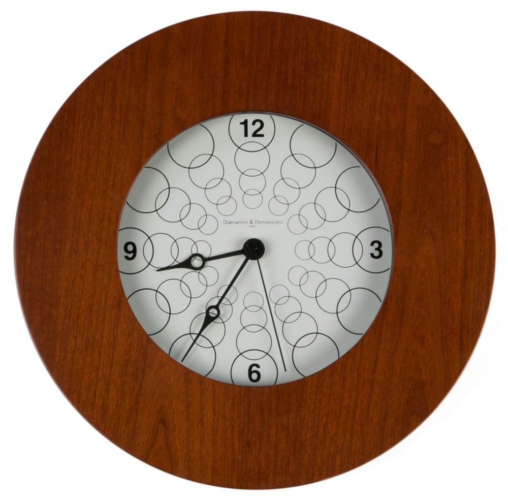 Часы настенные TARGET Round Wooden Frame Cherry, 00214