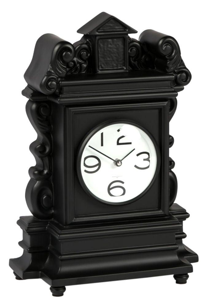 Часы настольные MODERN Lacquered Frame Black Matt Arab Dial F17, 00225