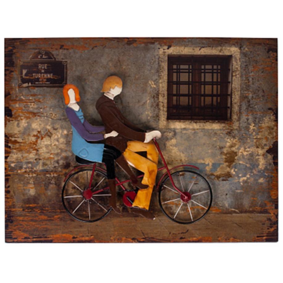 Декоративное настенное панно Love StoryДекор стен<br><br><br>Цвет: Разноцветный<br>Материал: МДФ, Ткань, Металл<br>Вес кг: 1,5<br>Длина см: 53<br>Ширина см: 6<br>Высота см: 40