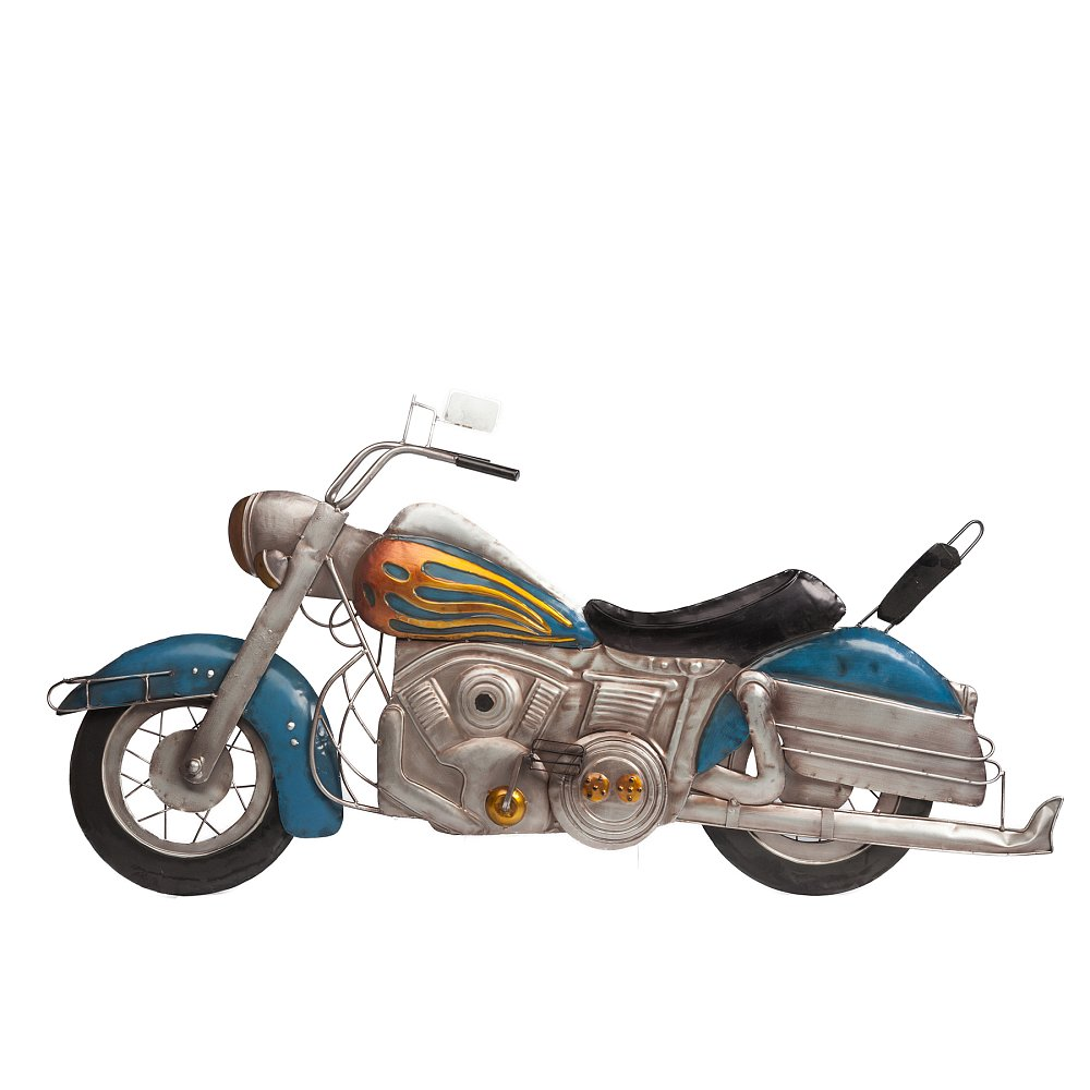 Декоративное настенное панно мотоцикл Sea Story