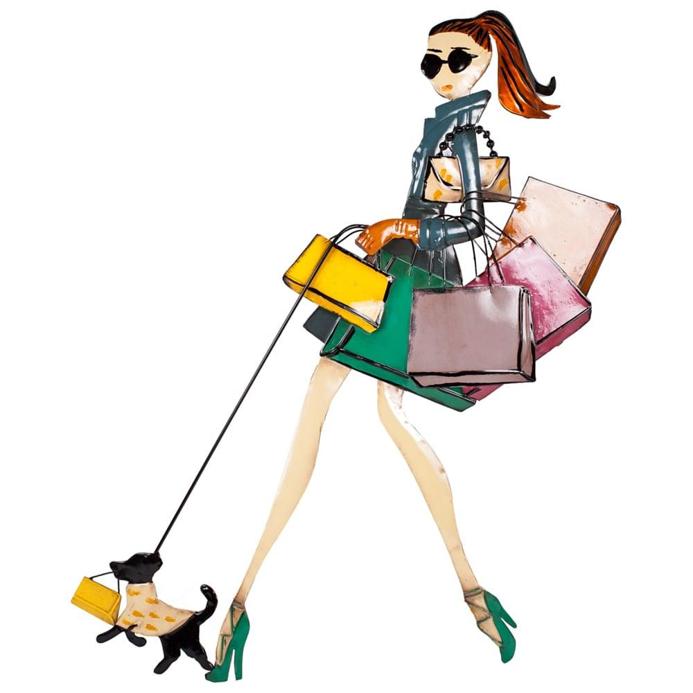Декоративное настенное панно Fashion Girl, DG-D-1221Декор стен<br><br><br>Цвет: None<br>Материал: None<br>Вес кг: 0.4