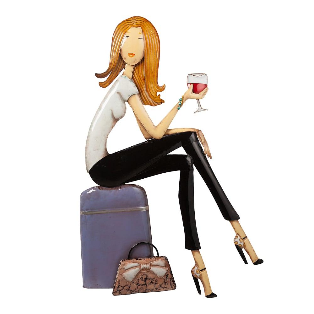 Декоративное настенное панно Traveling Girl DG-HOME Декоративные настенные панно легко и быстро  украсят, оживят или даже преобразят ваш  интерьер, помогут создать уют и интересную  обстановку. Пустая скучная стена в один  миг станет акцентной при правильно подобранном  декоре. Купите декоративное настенное панно  Traveling Girl — оригинальный, стильный и символичный  подарок для любительницы путешествовать.