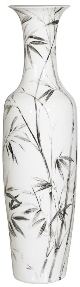 Купить Ваза напольная Vase Ceramic tall white в интернет магазине дизайнерской мебели и аксессуаров для дома и дачи