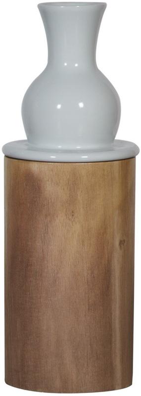 Ваза настольная Pillar Ceramic/wood / HC13056 (Pillar)
