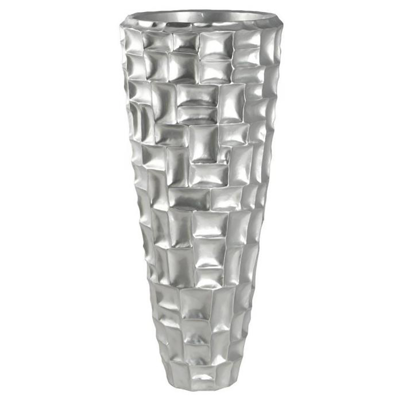 Ваза напольная Mother of Pearl Carved Vase / Silver / GF08174 (Mother of Pearl Carved Vase)