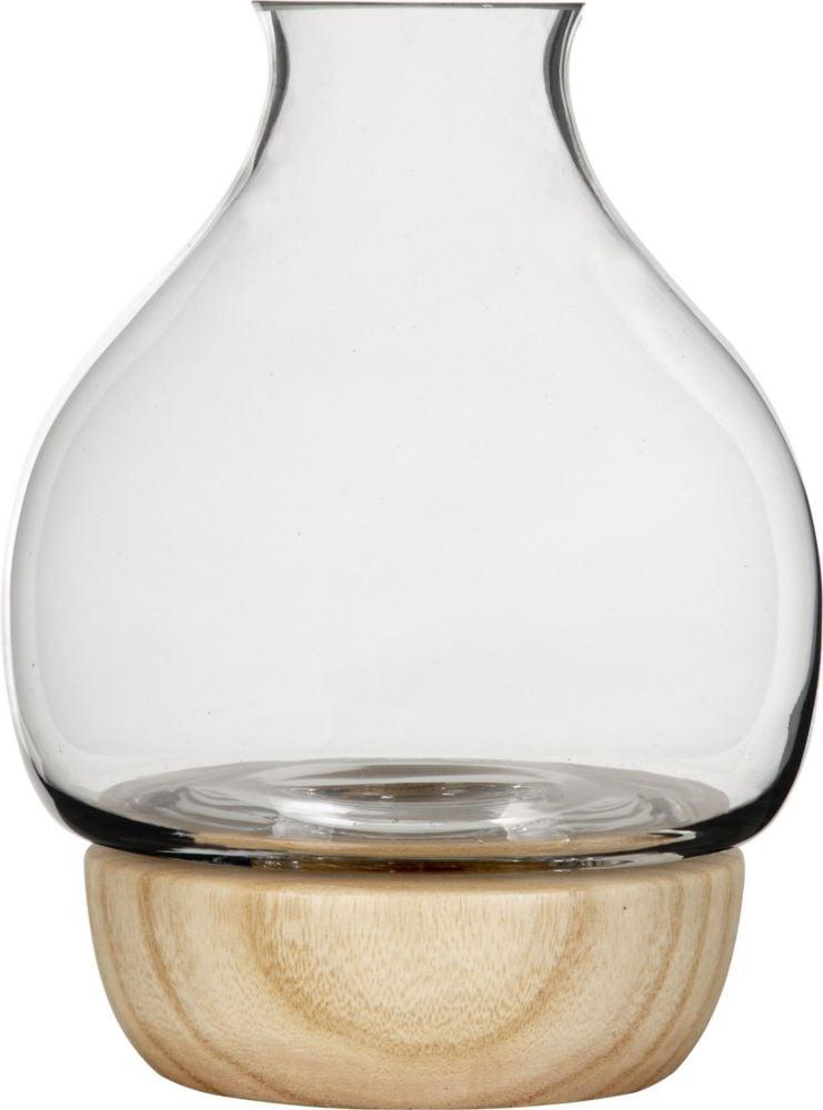 Ваза настольная Vase Glass/wood / GL12071 (Vase), 04564
