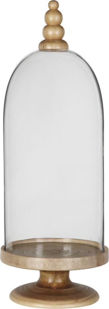 Купить Ваза / Vase Glass/wood / GL12073 (Vase) в интернет магазине дизайнерской мебели и аксессуаров для дома и дачи