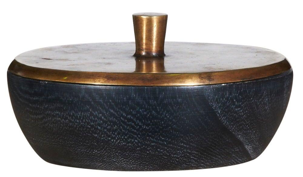 Ваза настольная Bowl Wood HP-11/stainless steel / GB14023 (Bowl)