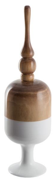 Ваза / Finial Container / GB09054 (Finial Container / Glazed)