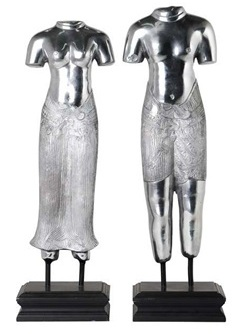 Декор Thai Lovers (комплект из 2 шт) - Polished aluminium / ACC05220 (Thai Lovers)
