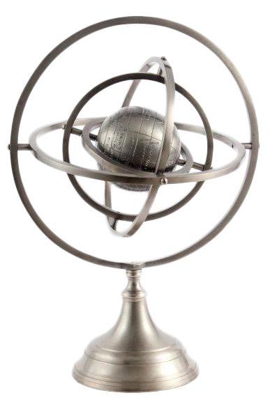 Купить Глобус / 48126 (ARMILLARY SATIN) в интернет магазине дизайнерской мебели и аксессуаров для дома и дачи