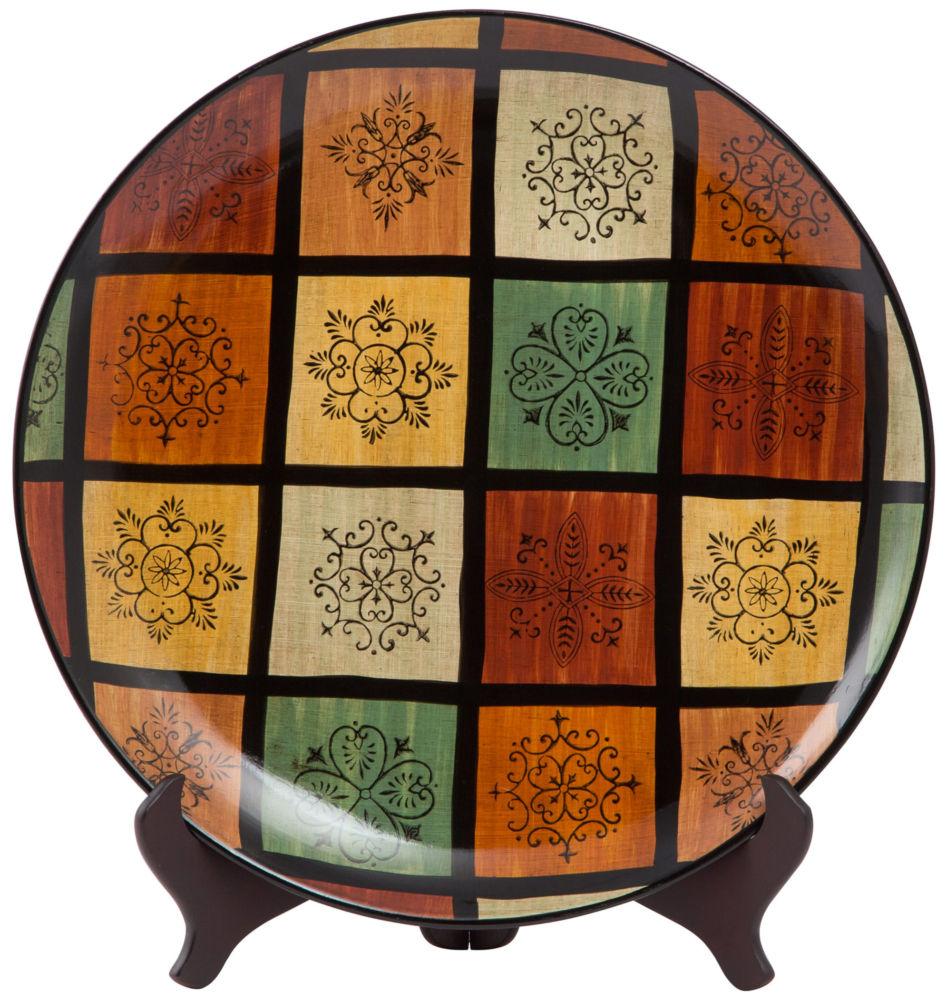 Купить Тарелка декоративная / JCQ-5577 (JCQ-5577) в интернет магазине дизайнерской мебели и аксессуаров для дома и дачи