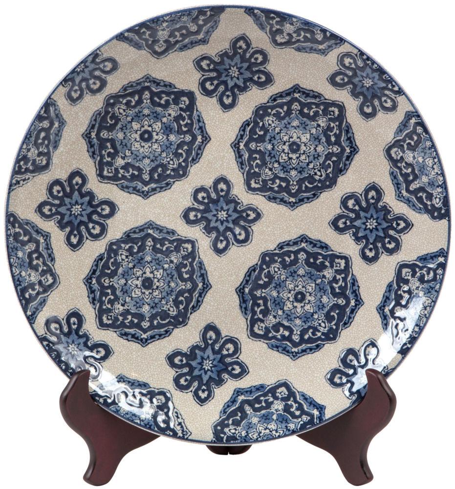 Тарелка декоративная / JCY-4548 (JCY-4548), 07343