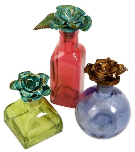 Декор Verre Bouquet (комплект из 3 шт) / 74086-3 (Verre Bouquet)