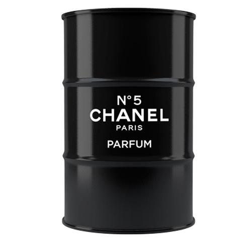 Бочка Chanel №5 black XL, BB-F-B02