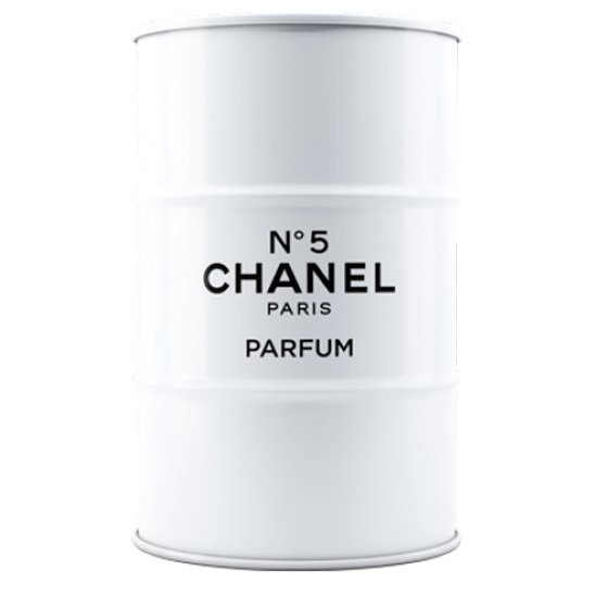 Декоративная бочка Chanel №5 white XL
