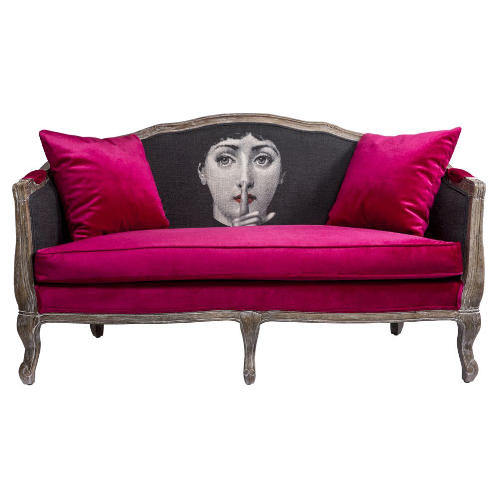 Купить Софа Секрет Руж Fornasetti в интернет магазине дизайнерской мебели и аксессуаров для дома и дачи