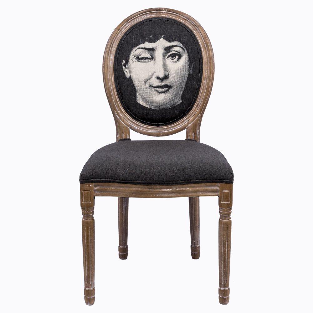 Купить Стул Намек Fornasetti в интернет магазине дизайнерской мебели и аксессуаров для дома и дачи