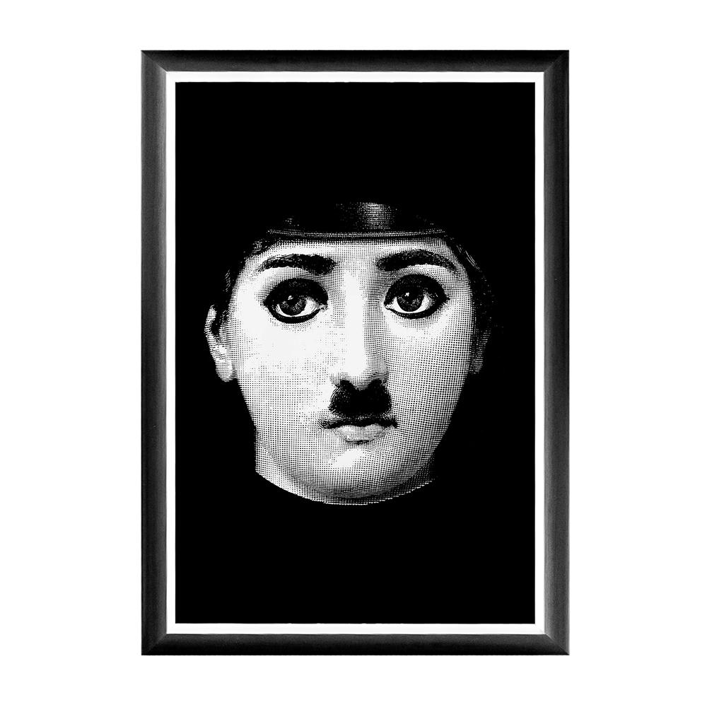 Купить Арт-постер Чарли Fornasetti в интернет магазине дизайнерской мебели и аксессуаров для дома и дачи