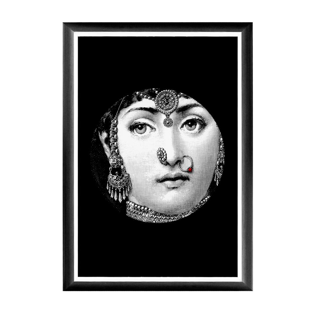 Купить Арт-постер Индия Fornasetti в интернет магазине дизайнерской мебели и аксессуаров для дома и дачи