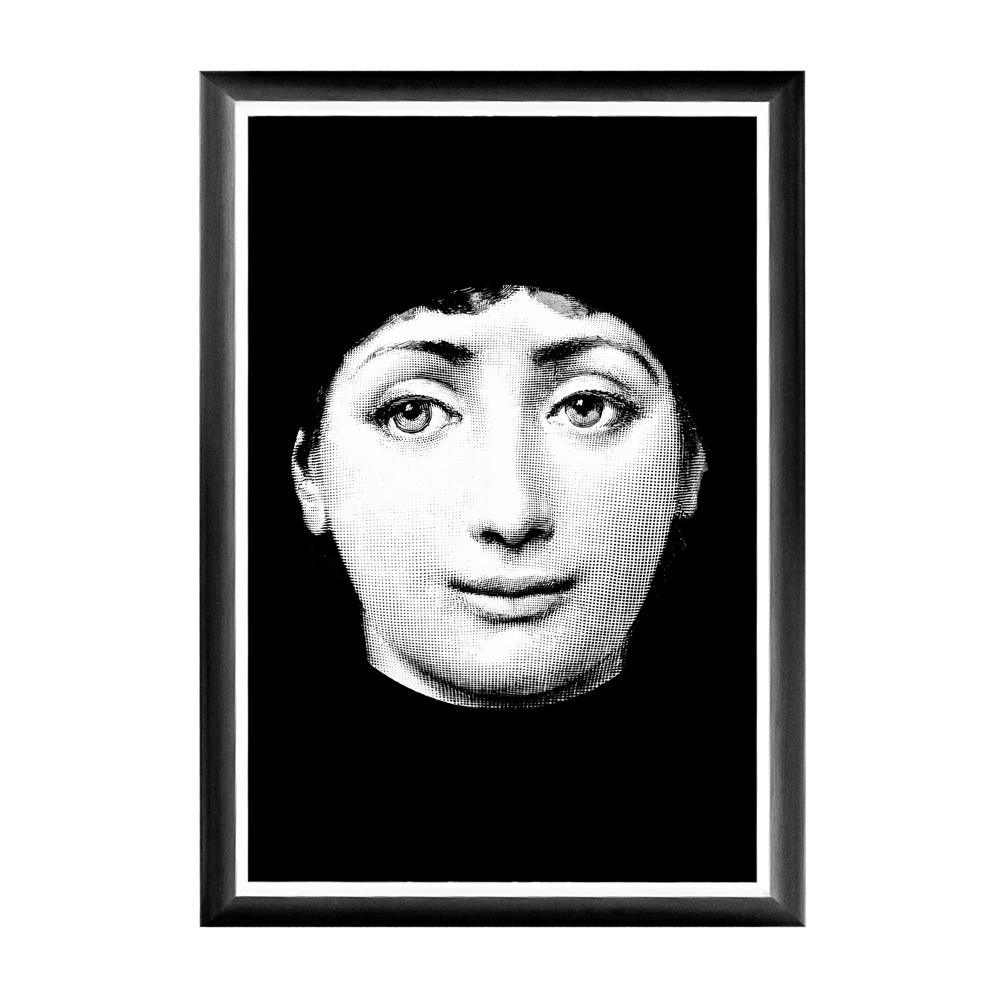 Арт-постер Портрет Fornasetti, OM-D-PR19