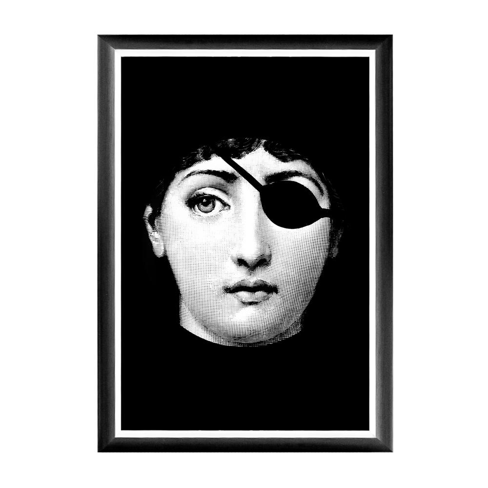 Купить Арт-постер Маскарад Fornasetti в интернет магазине дизайнерской мебели и аксессуаров для дома и дачи