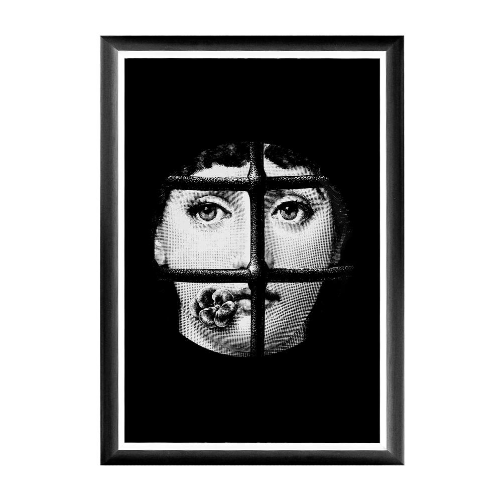 Купить Арт-постер Пленительный образ Fornasetti в интернет магазине дизайнерской мебели и аксессуаров для дома и дачи
