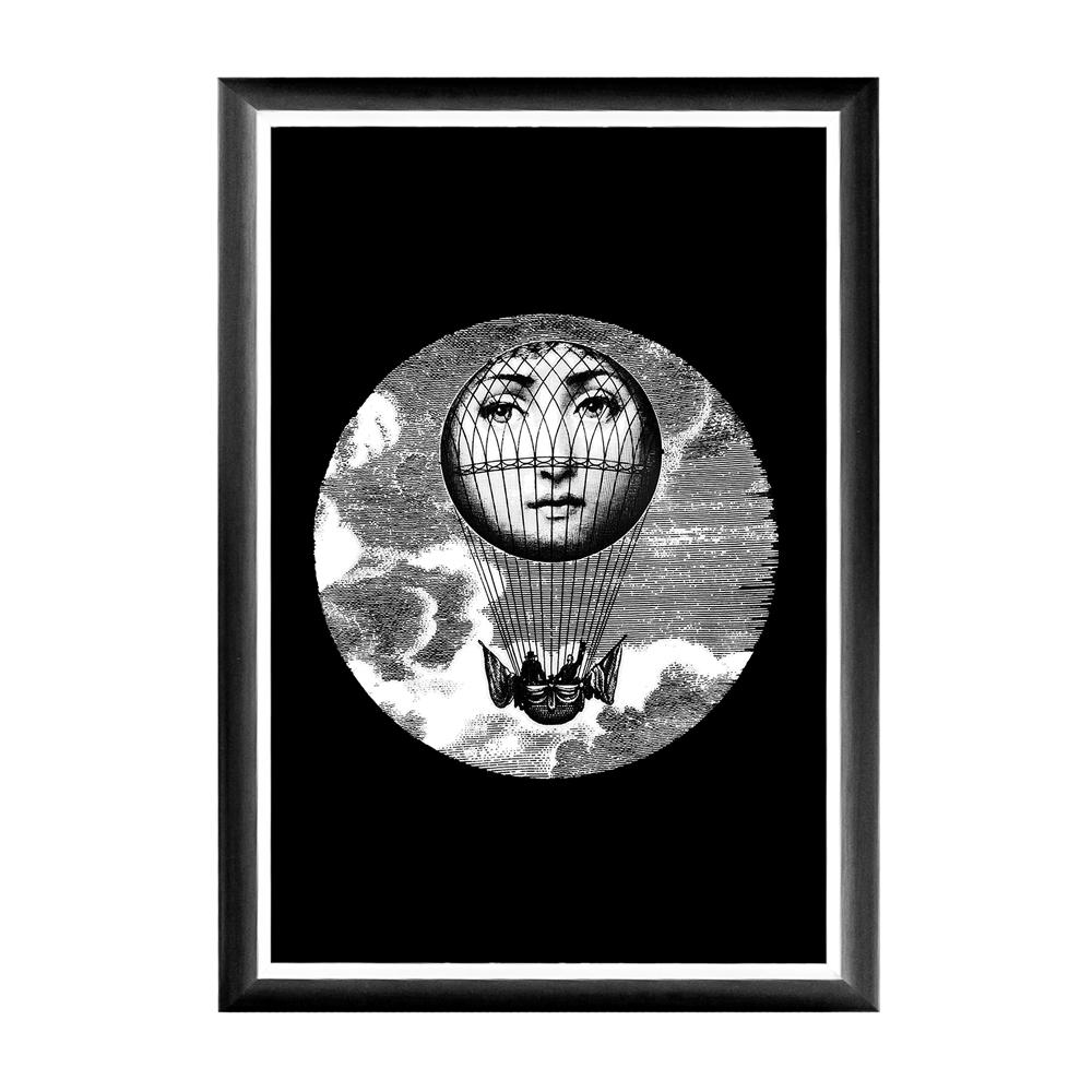 Арт-постер Монгольфьер Fornasetti, OM-D-PR31