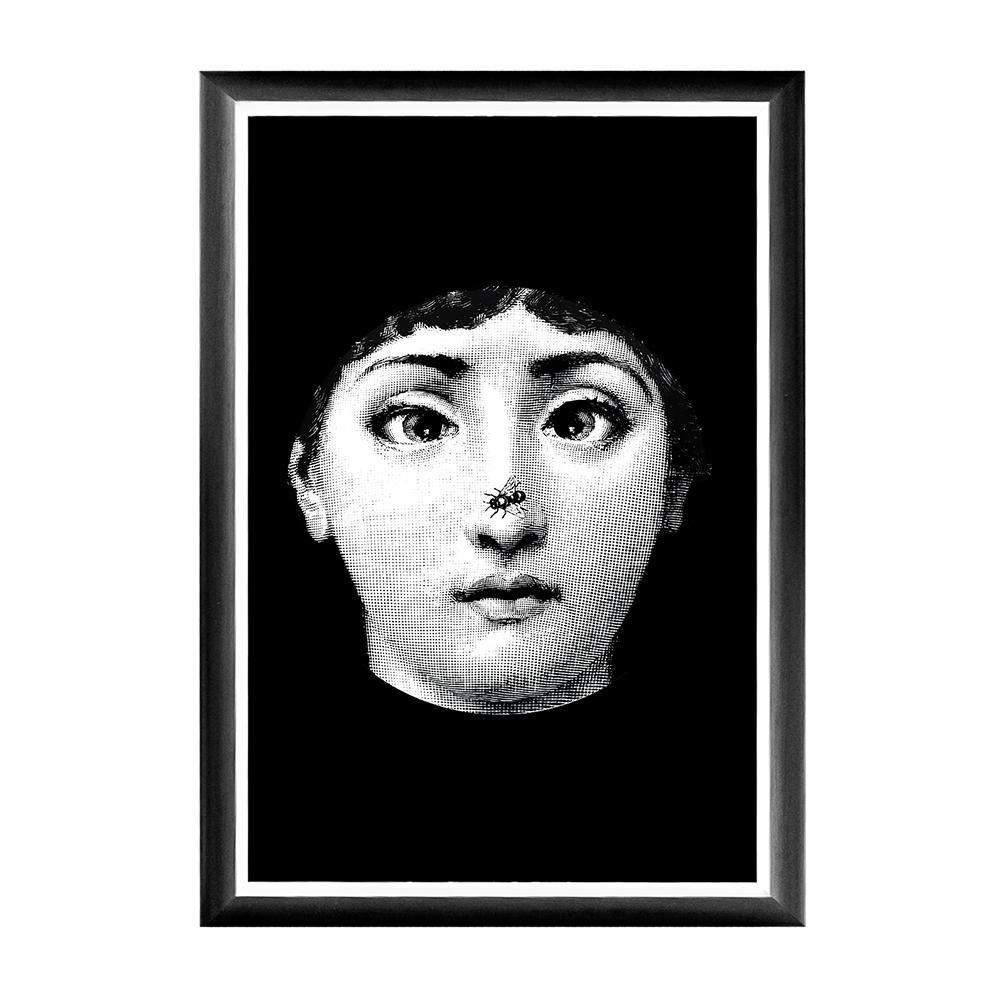 Купить Арт-постер Гротеск Fornasetti в интернет магазине дизайнерской мебели и аксессуаров для дома и дачи
