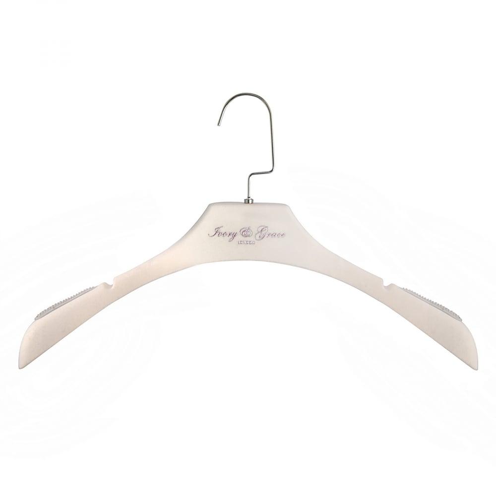 Вешалка-плечики Ivory and Grace Белая для женской одежды