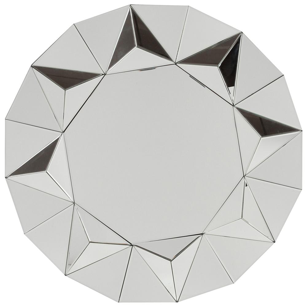 Зеркало DrancyЗеркала<br>Круглое зеркало Drancy входит в коллекцию <br>Солнце. В этой модели отражено блестящее <br>величие земного светила: зеркальные части <br>треугольной формы сложены так, что создается <br>впечатление, будто солнечный шар пылает <br>лучами, а само зеркало напоминает о древних <br>символах Солнца в нашей цивилизации. Это <br>зеркало станет важным атрибутом вашего <br>дома, подойдет как для ванной комнаты, так <br>и для прихожей. И отлично впишется в любой <br>интерьер, будь то модный лофт или простая <br>современная квартира. Будет сочетаться <br>с элементами стиля арт-деко. Зеркало выполнено <br>из МДФ. На товар можно заказать доставку <br>по всей России и оплатить заказ наличными <br>или по карте.<br><br>Цвет: Зеркальный<br>Материал: МДФ, Зеркало<br>Вес кг: 11,2<br>Длина см: 78,5<br>Ширина см: 4<br>Высота см: 78,5